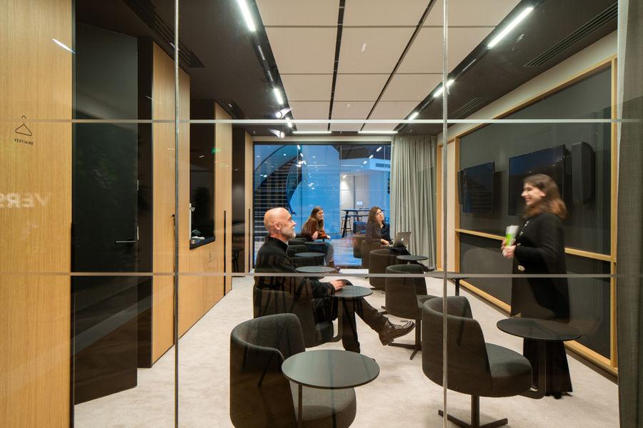 VERSO, centre de conférences Briefing Room
