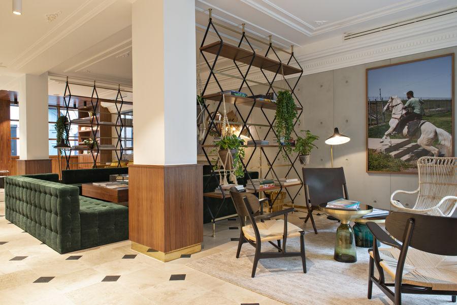 Hôtel Parister SALON RECEPTION