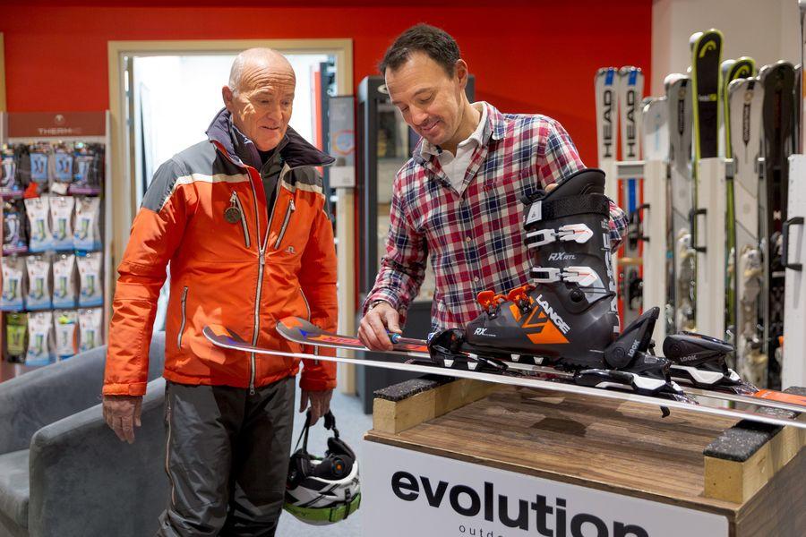 Les Loges Blanches **** Ski shop sur place