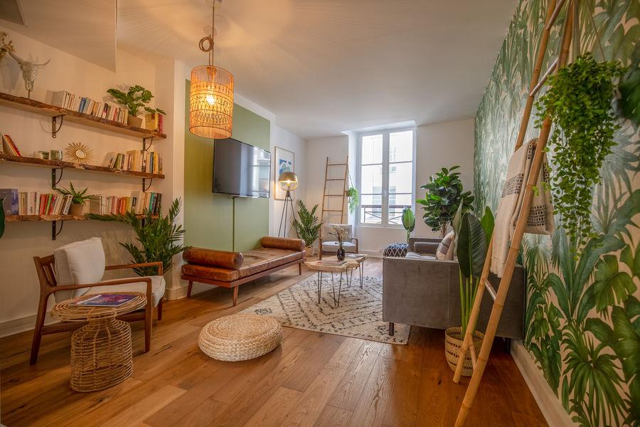 L'Appartement Reeve Le salon