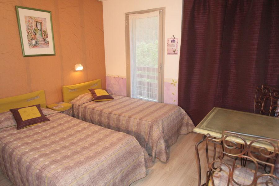 Hotel La Lauzetane *** chambre twin