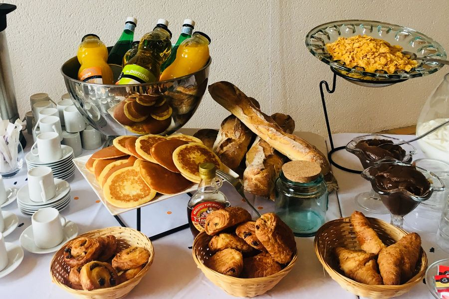 L'Aucenelle Accueil petit déjeuner