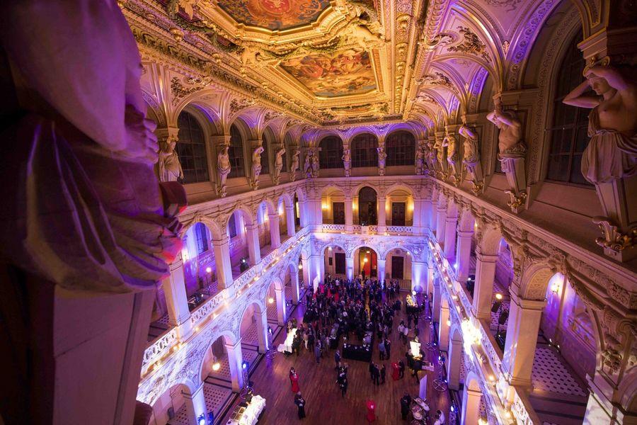 Palais de la Bourse Lyon Salle de la Corbeille