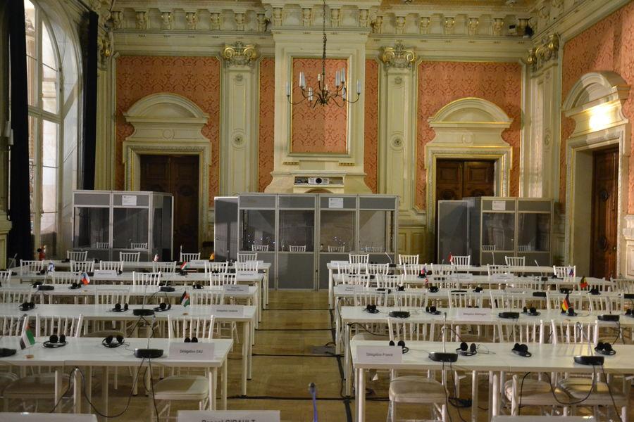 Palais de la Bourse Lyon Salle Ampère