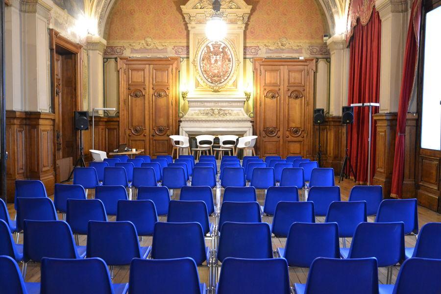 Palais de la Bourse Lyon Salle des Agents de change