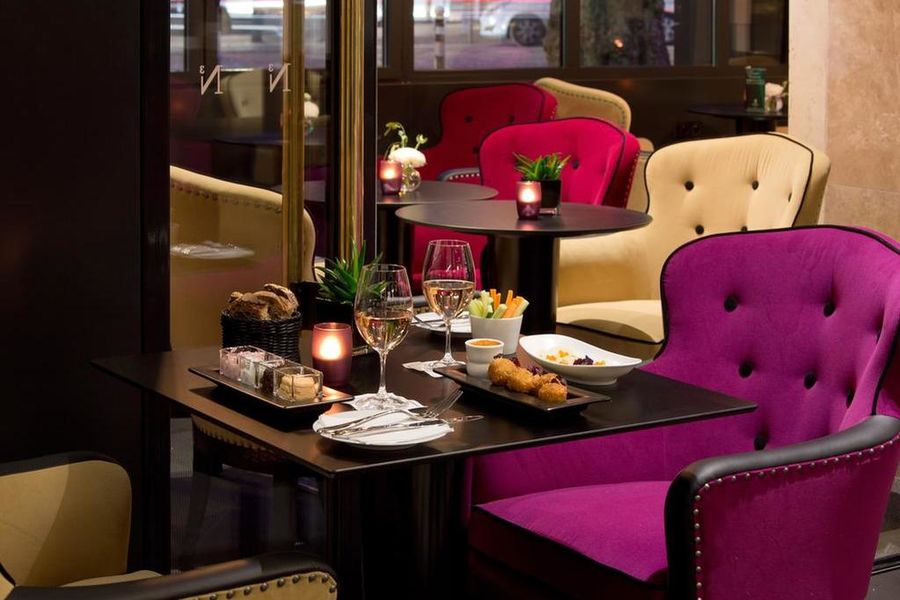La Villa Haussmann, Paris Restaurant