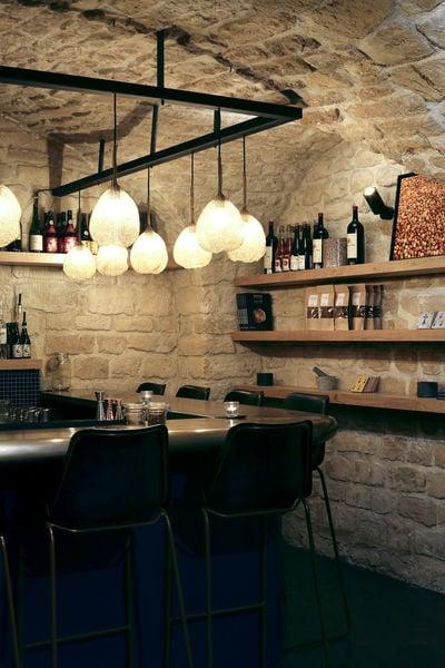 Breizh Café Montorgueil Le bar à cocktails de la Cave