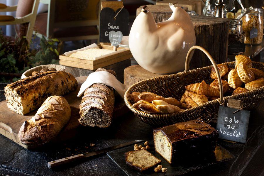 Ferme Saint Siméon ***** Buffet petit-déjeuner