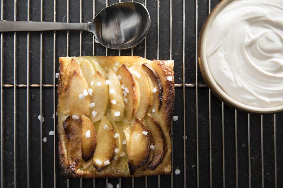 Ferme Saint Siméon ***** Tarte feuilletée aux pommes - Bistro La Boucane