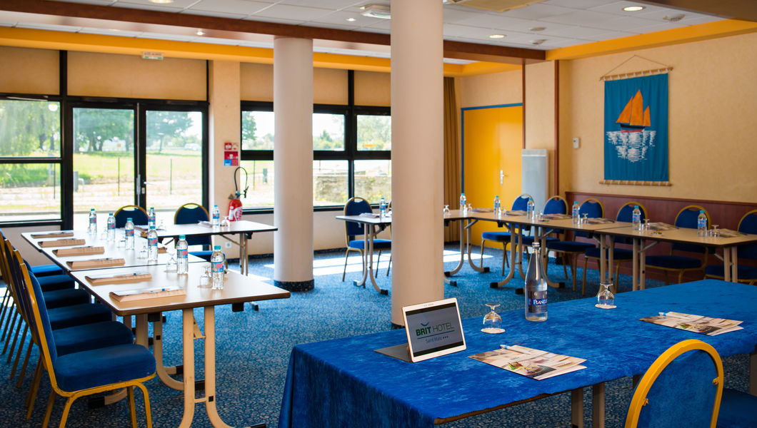 Brit Hotel Saint Malo - Le Transat *** Salle de séminaire