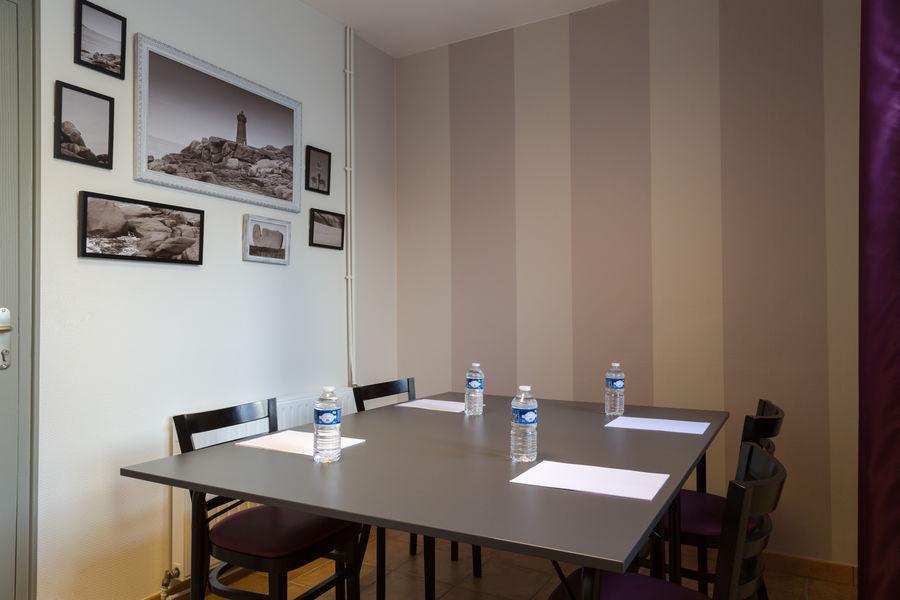 Hotel The OriginalsSaint-Brieuc Nord Au Chêne Vert Salle Ploumanac'h