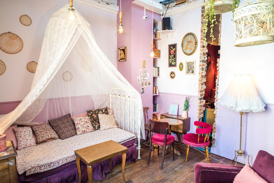 Le Pavillon des Canaux La Chambre rose