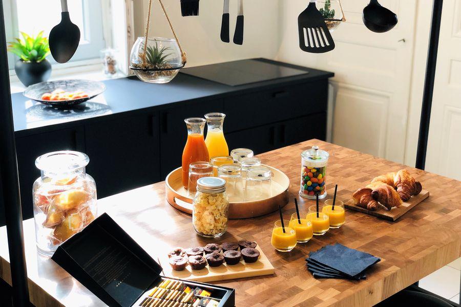 La Rive Lyon La Cuisine - Pour vos pauses / petits-déjeuners