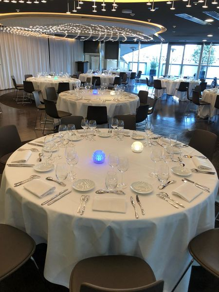 Parc des Princes Salon Concorde en format banquet / Tribune Borelli