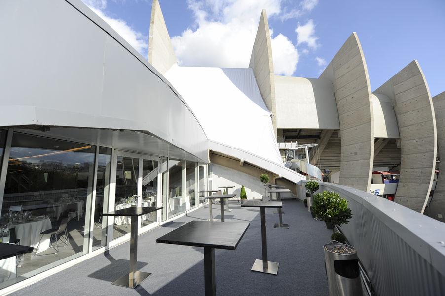 Parc des Princes Terrasse Sud du Salon Concorde / Tribune Borelli
