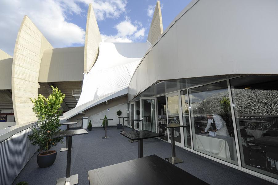 Parc des Princes Terrasse Nord du Salon Concorde / Tribune Borelli