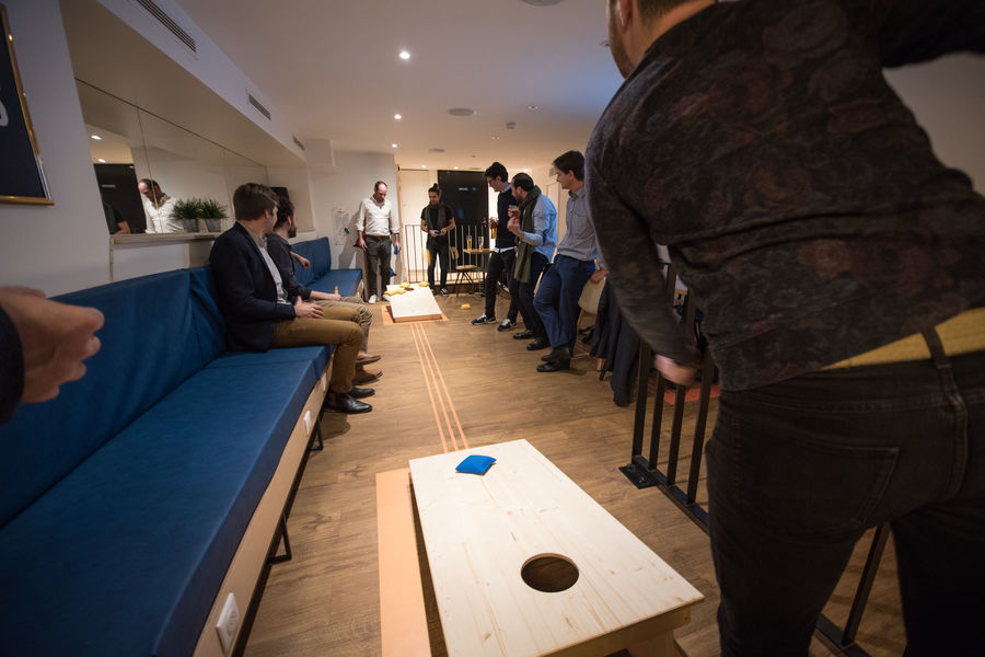 The Playce Hotel by HappyCulture AfterWork Meet&Play au PlayRoom (Cornhole)