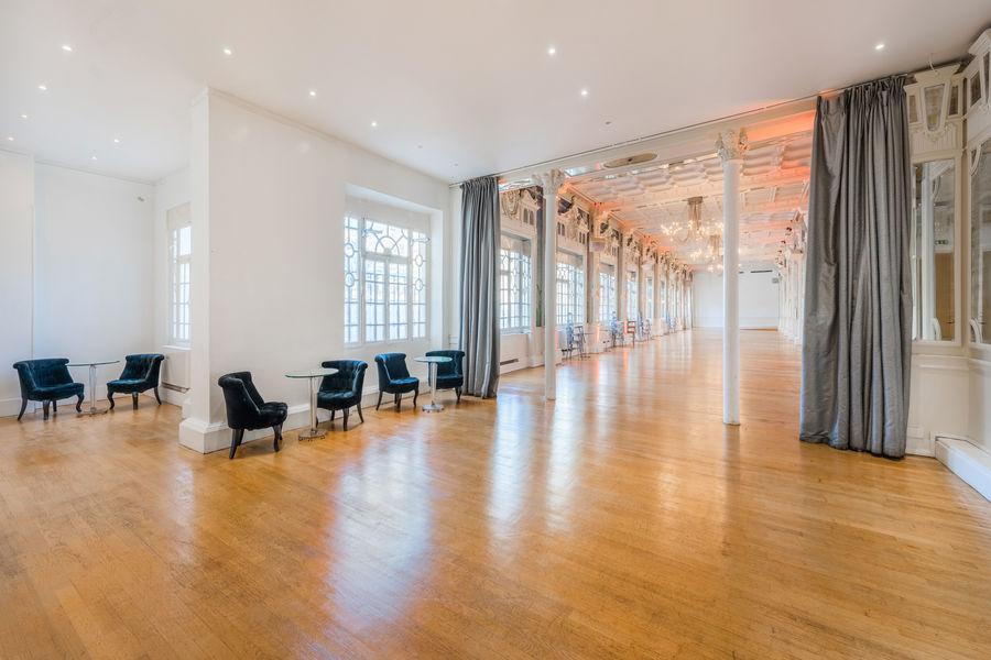 Salon des Miroirs Salle Principale et renfoncement lounge