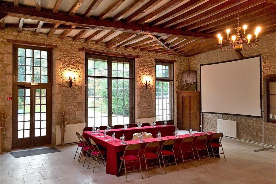 Château de Meung sur Loire Formation en U