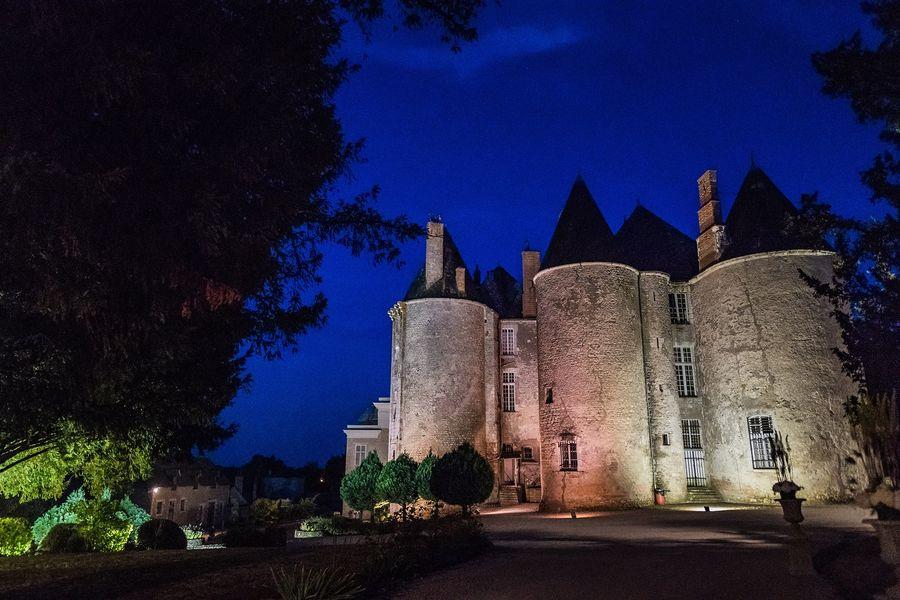Château de Meung sur Loire Château de Meung sur Loire la nuit