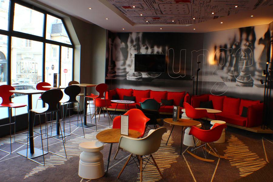 Hôtel Ibis Nantes Centre Tour de Bretagne Espace bar