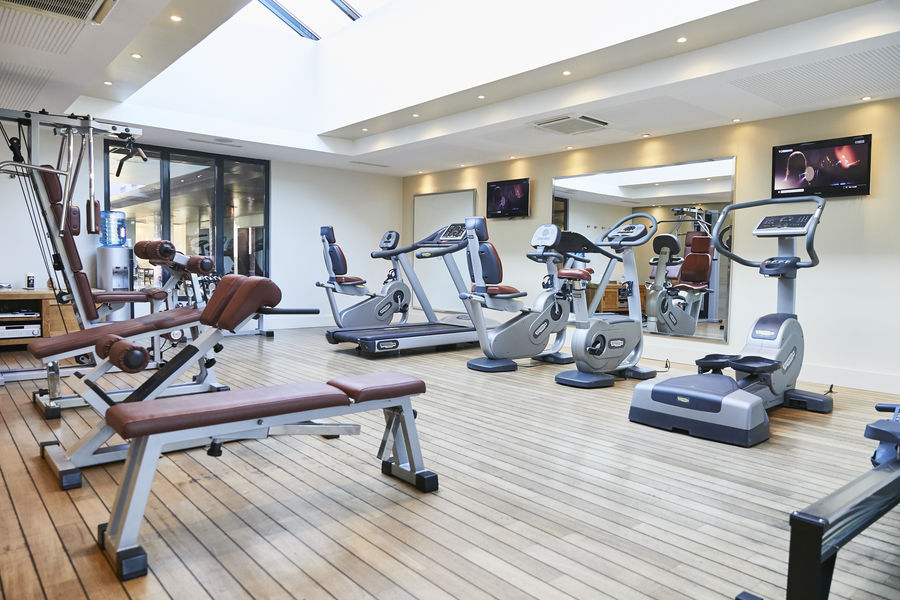 Château de Villiers-le-Mahieu Une salle de fitness pour se dépenser