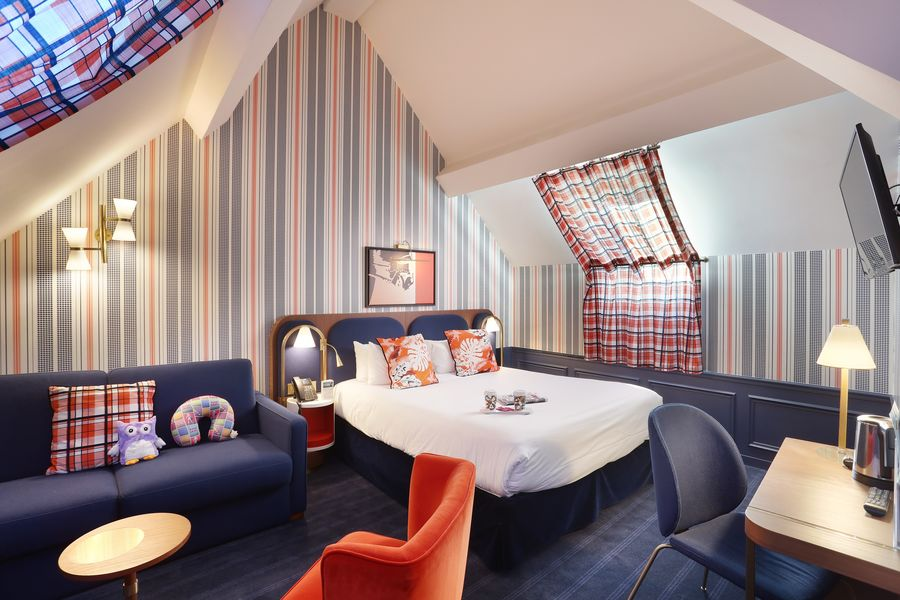 Hôtel Le Cheval Blanc Paris Marne La Vallée **** Chambre Double
