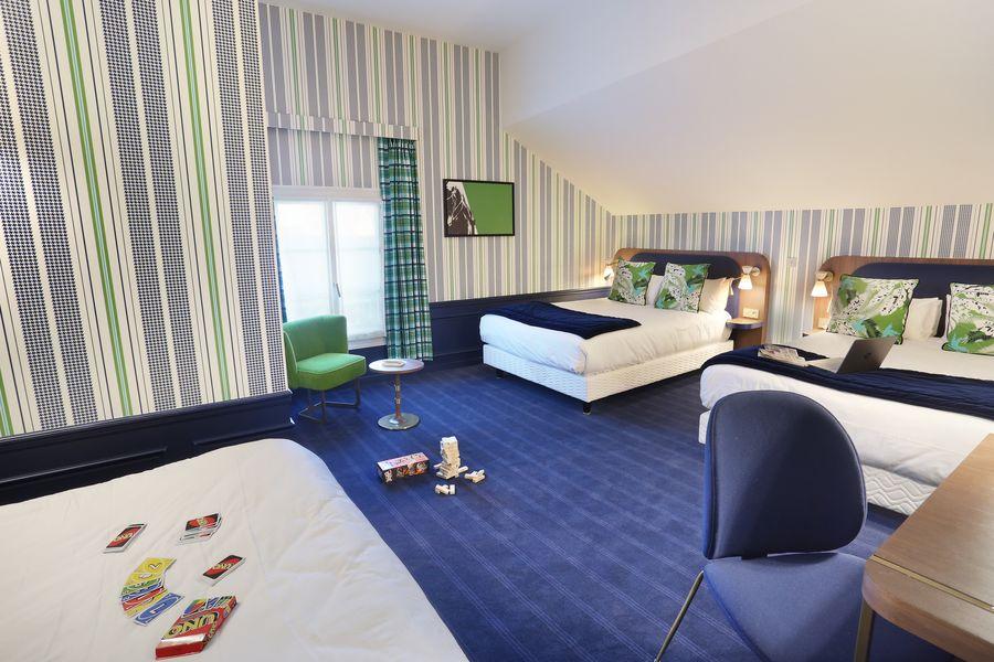 Hôtel Le Cheval Blanc Paris Marne La Vallée **** Chambre Familiale 6 personnes