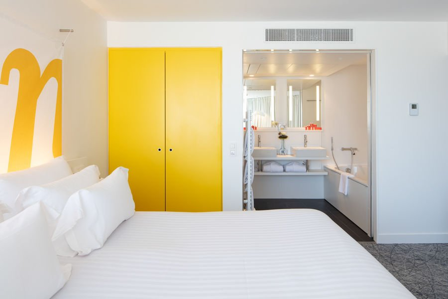 Hotel NHow Marseille **** Suite vue mer et balcon