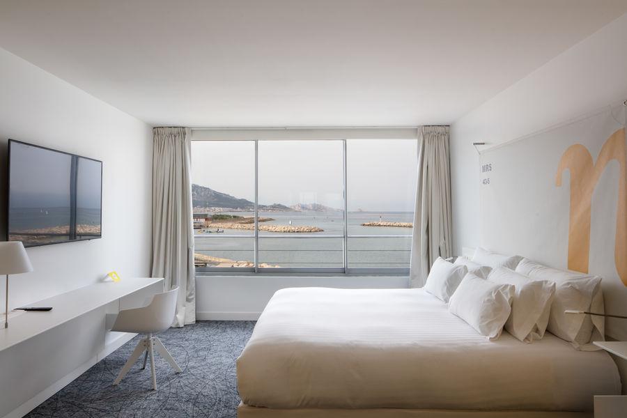 Hotel NHow Marseille **** Nhow vue mer