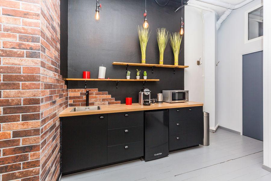 Otaf Nation  kitchenette avec café et thé à volonté, frigo et micro-onde pour les pauses !
