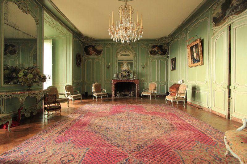 Château de Montmirail Salon