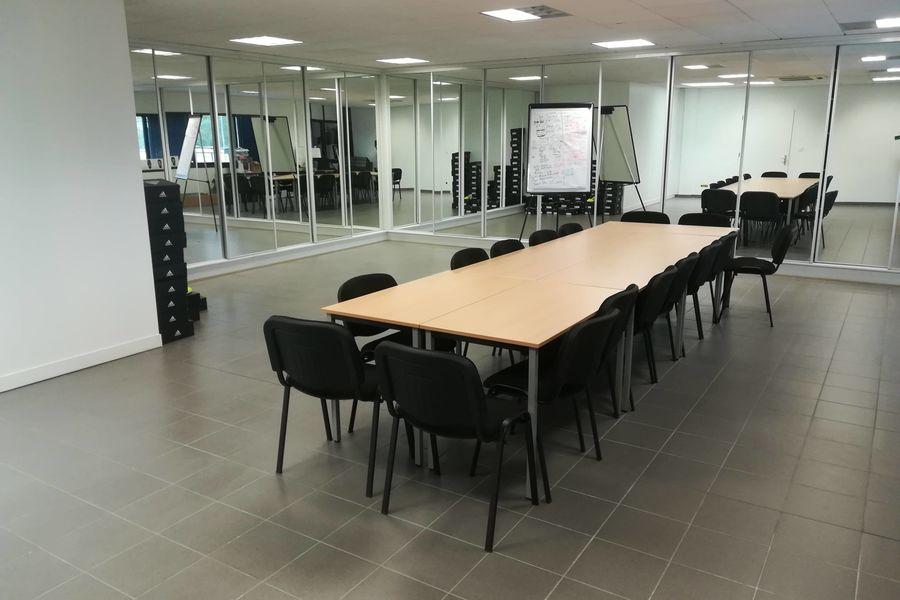 Soccer Park Strasbourg Salle de réunion modulable