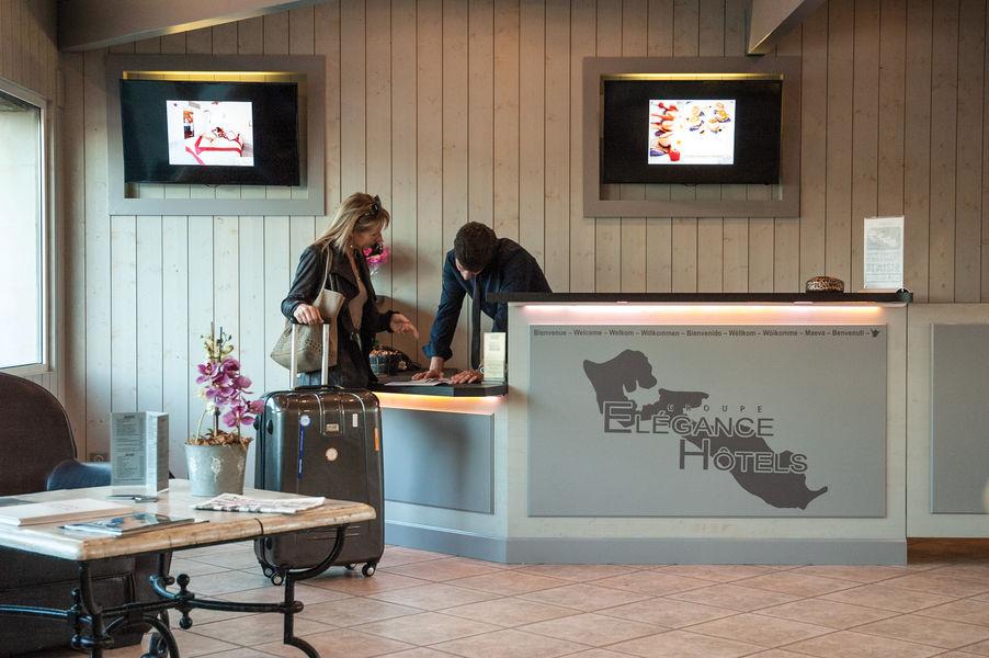 Hotel Restaurant Plaisir et Spa*** Réception