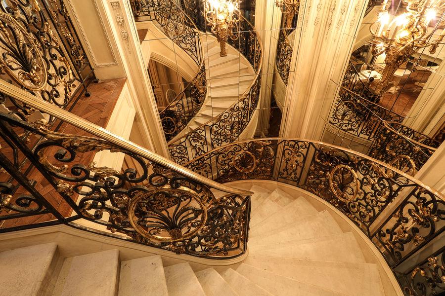 Café Pouchkine Escalier