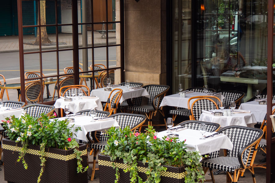 Café Pouchkine Terrasse