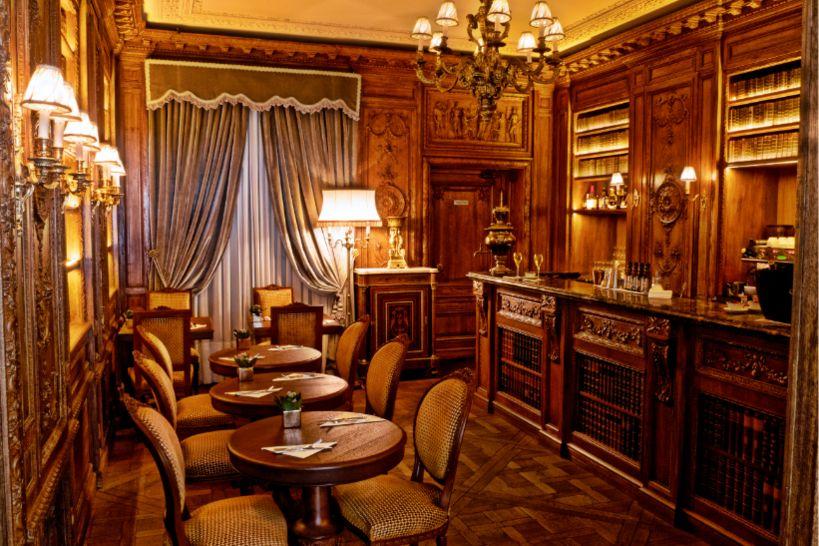 Café Pouchkine Bar Bibliothèque