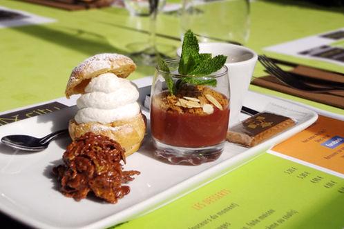 Hôtel des Congrès *** dessert restaurant