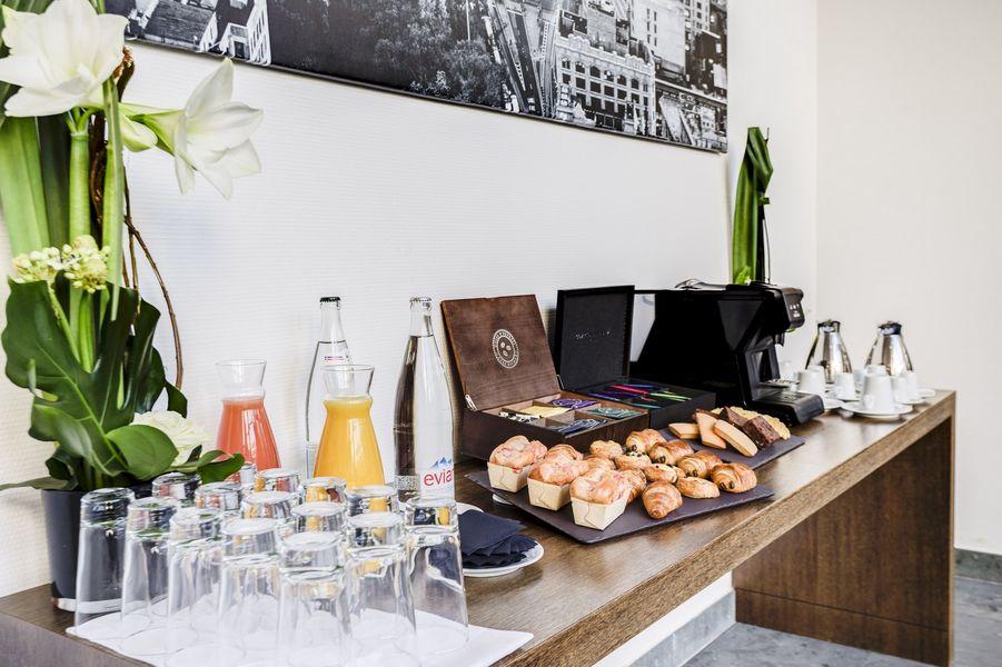 Hôtel ParkSaône pause café