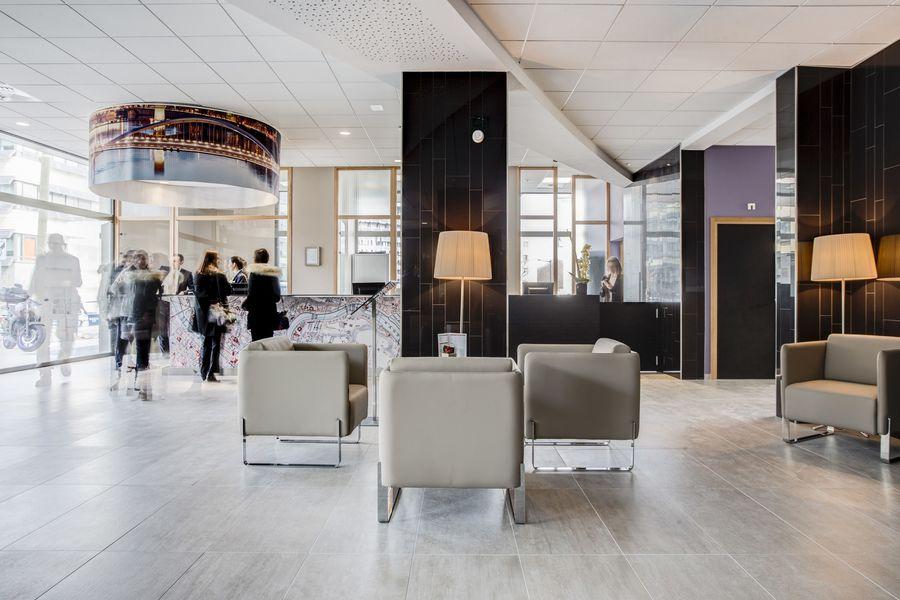 Hôtel ParkSaône lobby