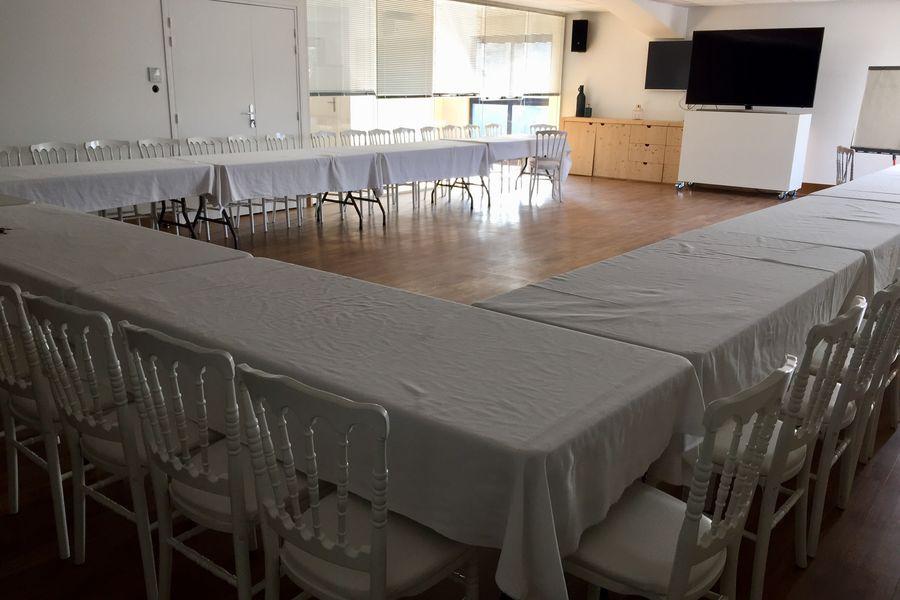 Le B Complexe - Bar de Glace Salon Cosy - Aménagement réunion de travail