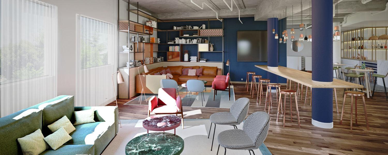 GOLDEN TULIP Aix-en-Provence**** Espace Lounge - Coworking