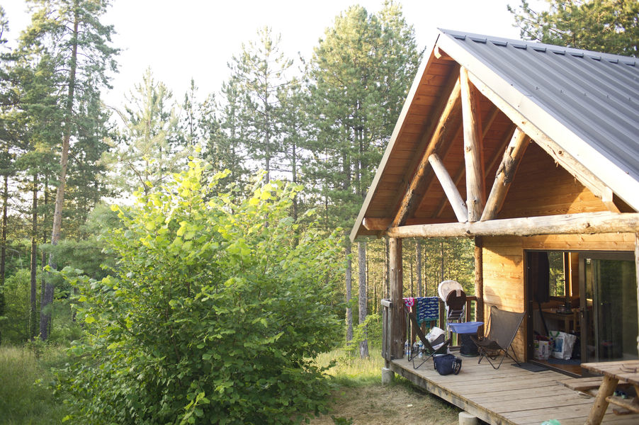 Huttopia Lanmary *** Une Cabane