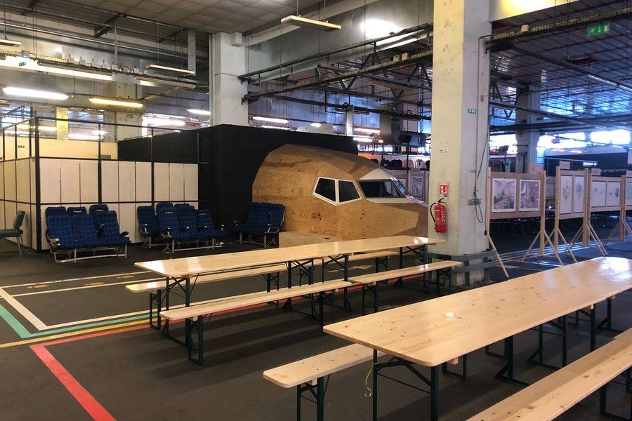 Ground Control Halle Event / Avion