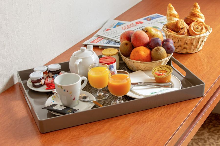 Brit Hotel Saint Malo - Le Transat *** Petit-déjeuner plateau