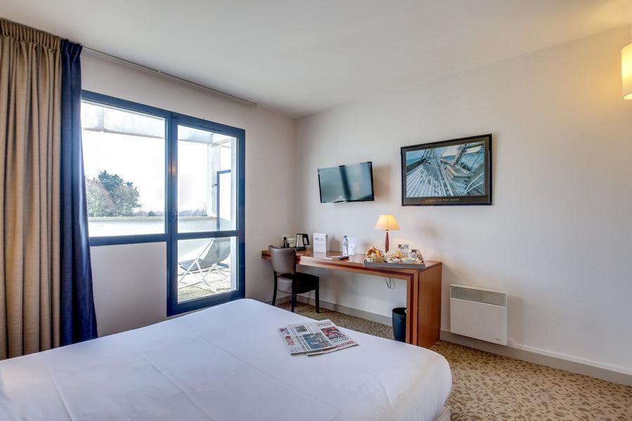 Brit Hotel Saint Malo - Le Transat *** Chambre bureau lit double