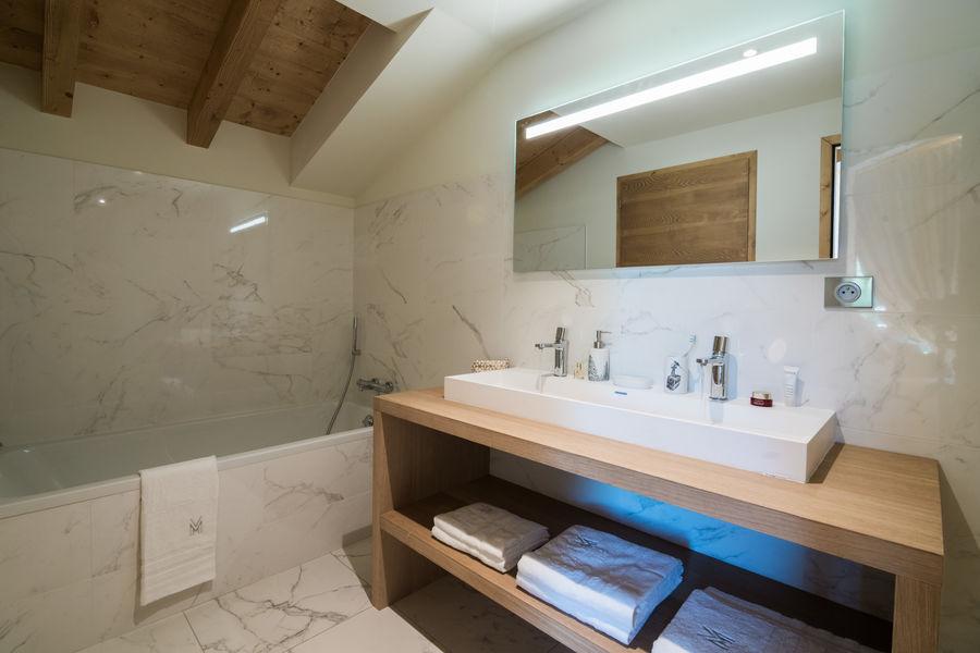 Les Portes de Megève  Sall de bain