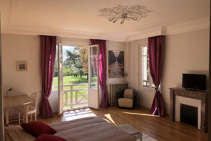 La Villa Rochette Chambre
