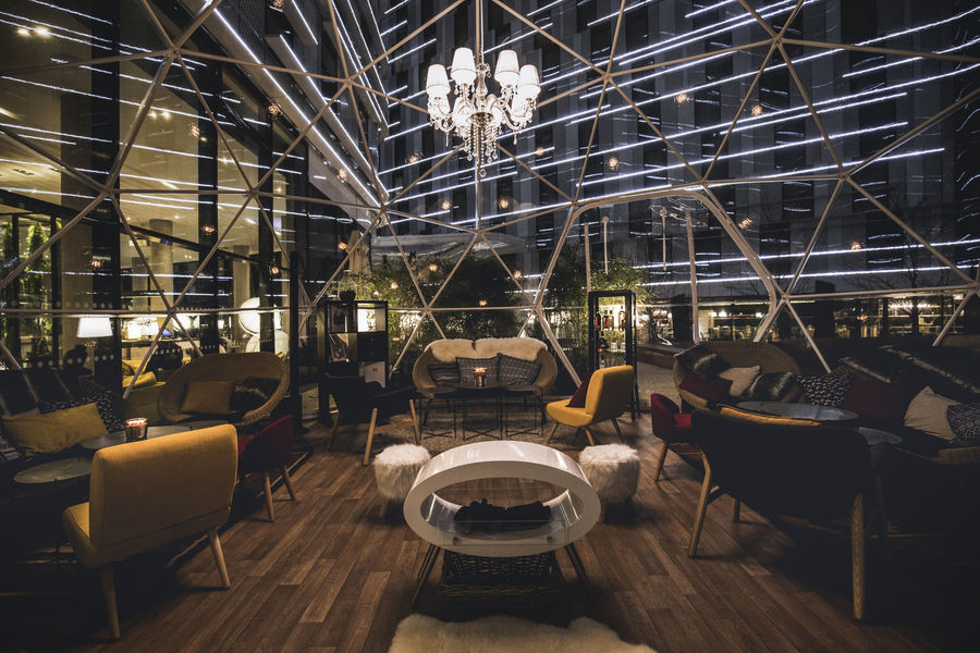 Pullman Paris Roissy CDG Airport **** Crystal Bar