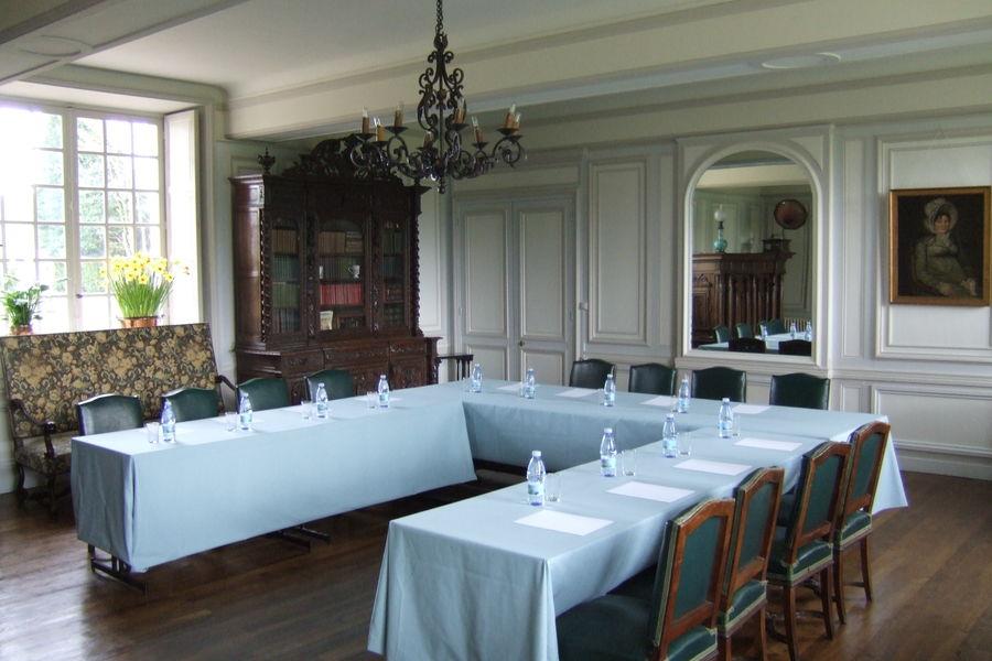 Chateau de Bonnemare Le grand salon